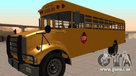 Bus scolaire insipide (BENSON de GTA IV) pour GTA San Andreas