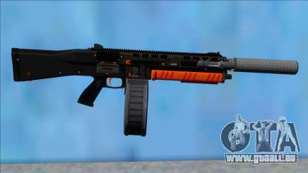 GTA V Vom Feuer Assault Shotgun Orange V1 pour GTA San Andreas