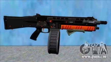 GTA V Vom Feuer Assault Shotgun Orange V5 pour GTA San Andreas