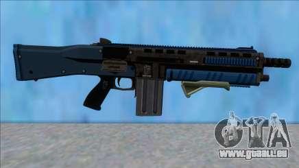 GTA V Vom Feuer Assault Shotgun LSPD V10 pour GTA San Andreas