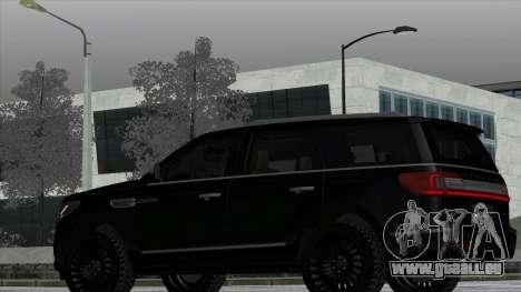 Lincoln Navigator Black Edition für GTA San Andreas