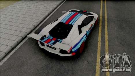 Lamborghini Aventador Limited Edition pour GTA San Andreas