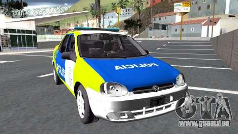 Chevrolet Corsa PBA Version 1 pour GTA San Andreas