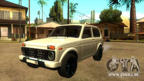 LADA URBAN 78RUS pour GTA San Andreas