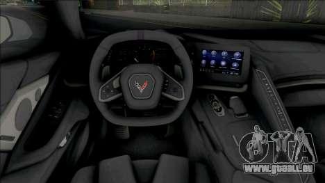 Chevrolet Corvette Stingray C8 (SA Lights) pour GTA San Andreas