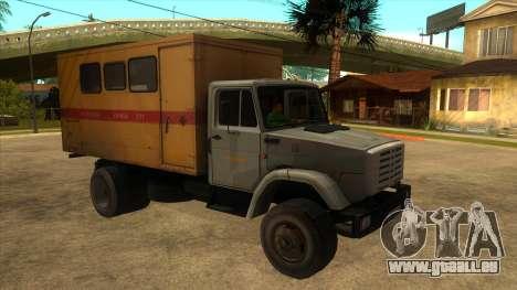 ZIL 4331 TTU pour GTA San Andreas