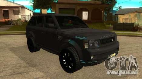 Sidhu Moosewala Range Rover Mod pour GTA San Andreas