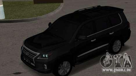 New Lexus LX570 für GTA San Andreas