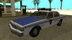 Chevrolet Caprice 1987 New York Transit Police für GTA San Andreas