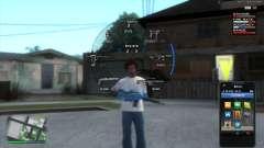 GTA5 HUD by DK22Pac für GTA San Andreas