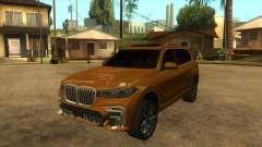 BMW X7 M50D für GTA San Andreas