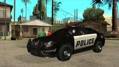 Intercepteur de police insipide du MGCRP
