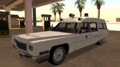 Cadillac Fleetwood 1970 Krankenwagen