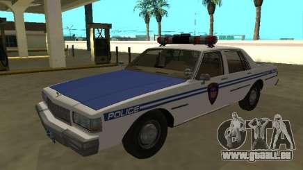 Chevrolet Caprice 1987 Police de New York pour GTA San Andreas