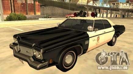 Oldsmobile Delta 88 1973 Département de police de Los Angeles pour GTA San Andreas