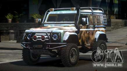Land Rover Defender Off-Road PJ2 pour GTA 4