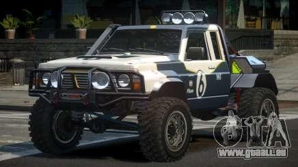 Nissan Patrol Off-Road L10 pour GTA 4