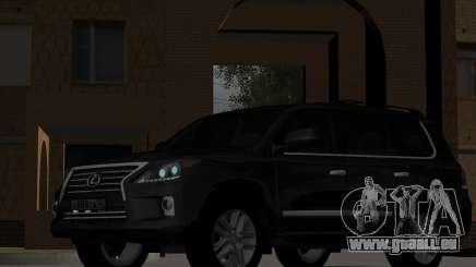 New Lexus LX570 pour GTA San Andreas