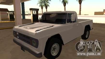 Dodge D-100 1968 MON pour GTA San Andreas