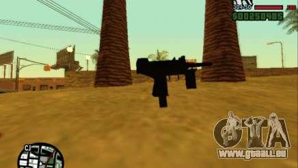 Micro Uzi Re-Style für GTA San Andreas