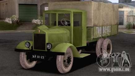 JAG-6 1936 für GTA San Andreas