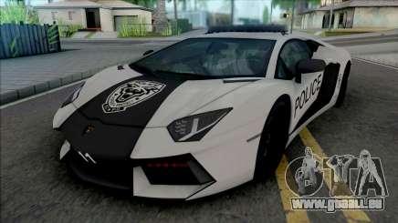Lamborghini Aventador LP700-4 Police Rio pour GTA San Andreas