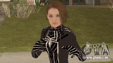 Black Spider Valentine für GTA San Andreas
