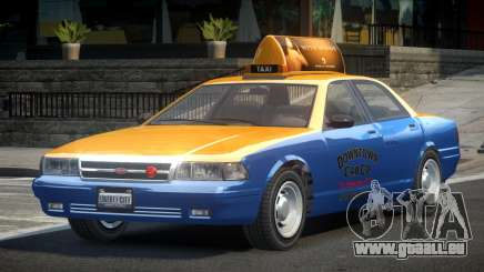 Vapid Stanier 2nd Gen Downtown Cab pour GTA 4