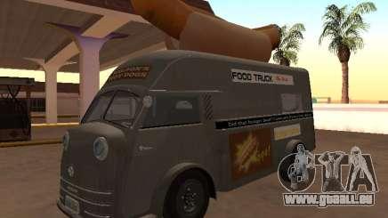 Heure Matador 1952 HotDog Van pour GTA San Andreas