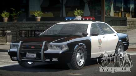 Vapid Stanier 2nd Gen LSPD pour GTA 4