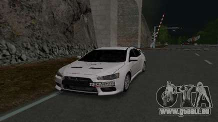 Mitsubishi Lancer 152 RUS Plates pour GTA San Andreas