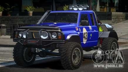 Nissan Patrol Off-Road L7 pour GTA 4