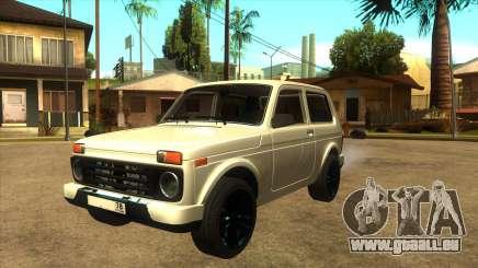 LADA URBAN 78RUS für GTA San Andreas