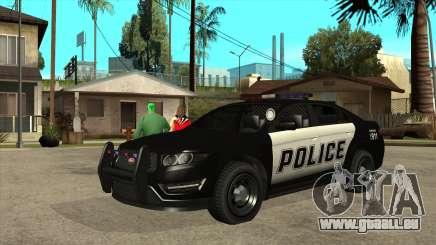 Intercepteur de police insipide du MGCRP pour GTA San Andreas