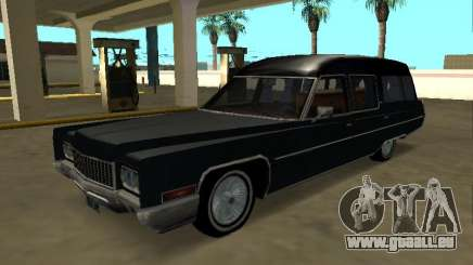 Cadillac Fleetwood 1970 Hearse Pack pour GTA San Andreas