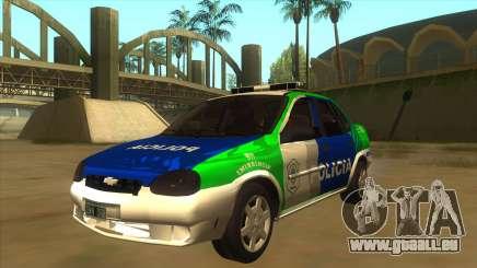 Chevrolet Corsa Police Bonaerense pour GTA San Andreas