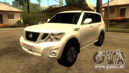Nissan Patrol Y62 pour GTA San Andreas