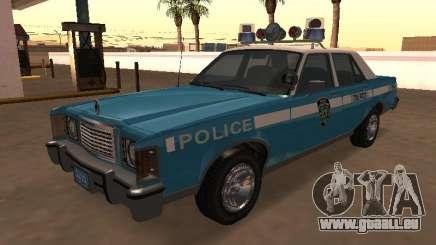 Ford Granada 1977 NYPD (Marbella GTA IV) pour GTA San Andreas