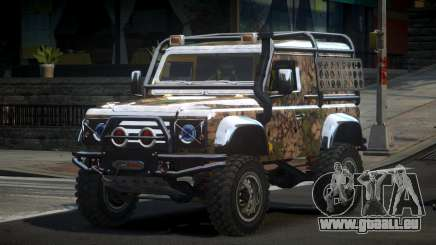 Land Rover Defender Off-Road PJ9 pour GTA 4