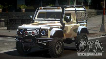 Land Rover Defender Off-Road PJ3 pour GTA 4