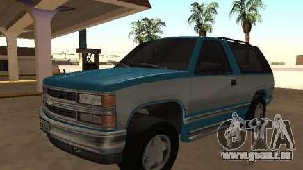 Chevrolet Blazer K5 v2 1998 pour GTA San Andreas