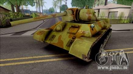 T-34-76 Penguins from Madagaskar für GTA San Andreas