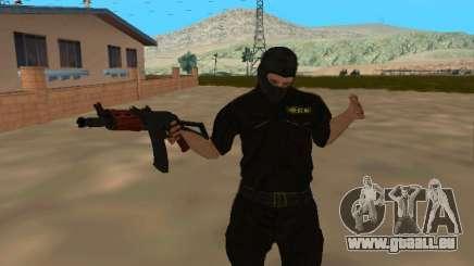 Peau du FSB dans un masque pour GTA San Andreas