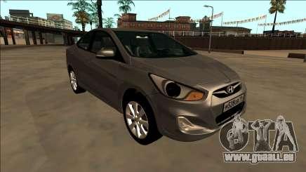 2013 Hyundai Solaris pour GTA San Andreas