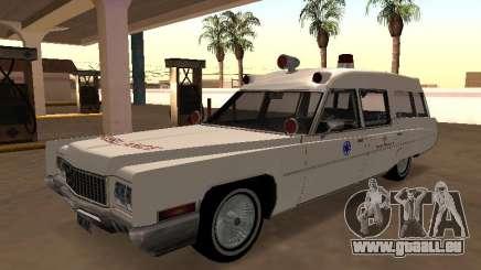 Cadillac Fleetwood 1970 Krankenwagen für GTA San Andreas