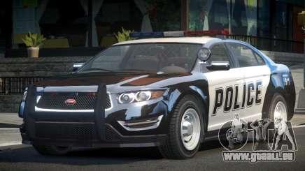Vapid Stanier LSPD Police Cruiser für GTA 4