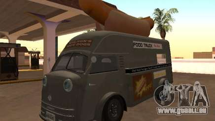 Temps Matador 1952 Hotdog Van - Edition pour GTA San Andreas