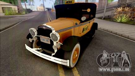 Ford Model A Taxi 1928 pour GTA San Andreas