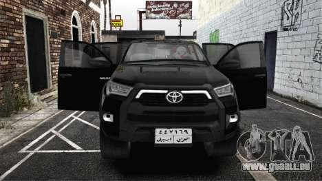 2021 Toyota Hilux invincible Exclusive pour GTA San Andreas