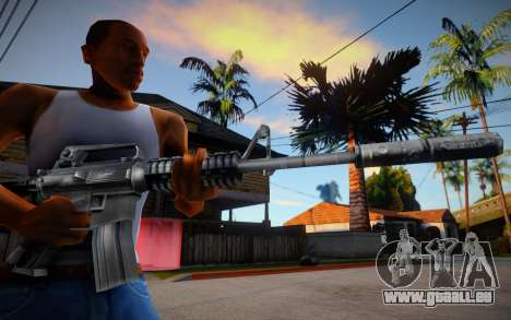 M4 from Counter Strike 1.6 pour GTA San Andreas